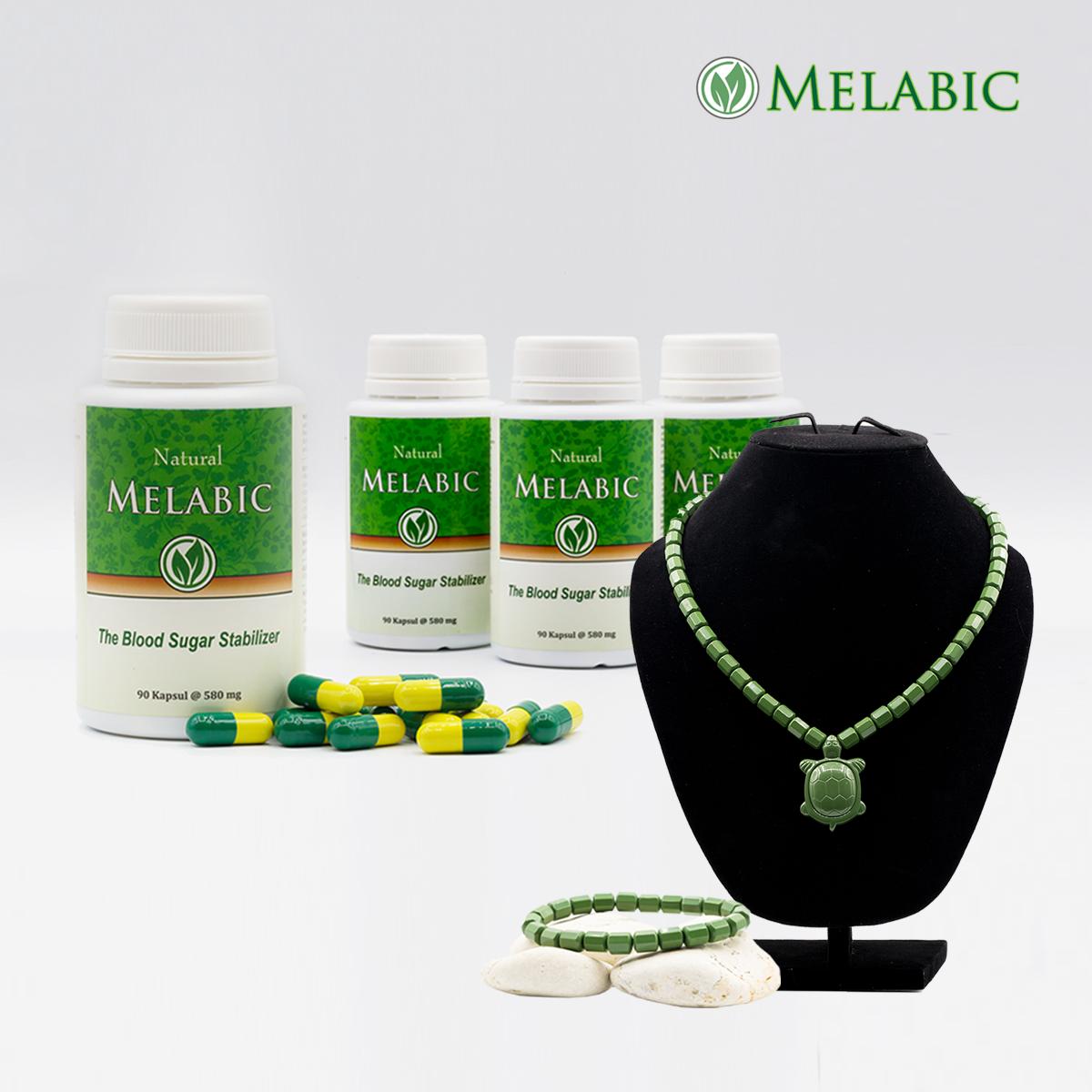 Melabic Paket 4 Bonus Ginsamyong