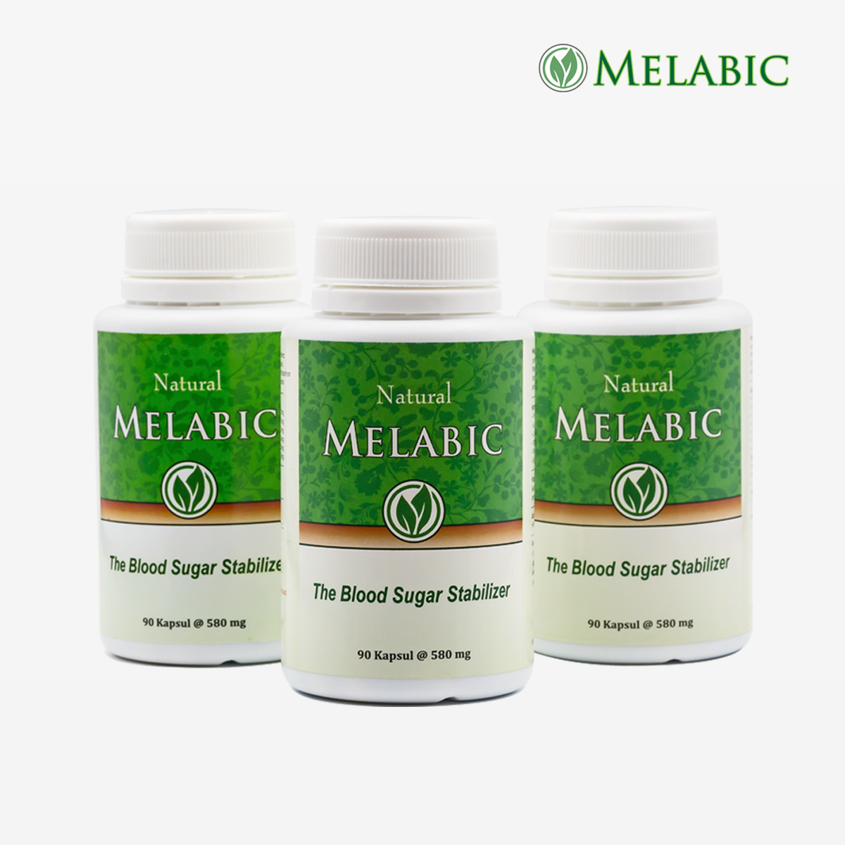 Melabic Paket 3 botol